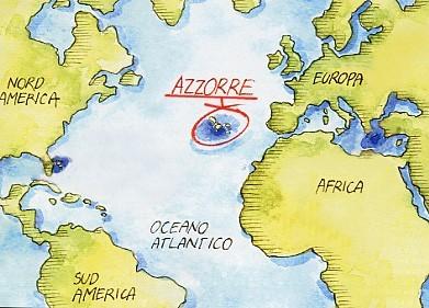 Dove sono le Azzorre