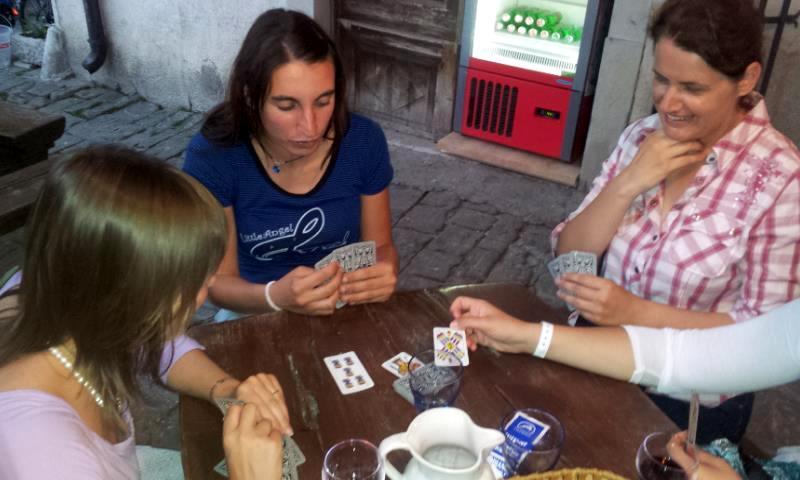 Briscola triestina a Pirano