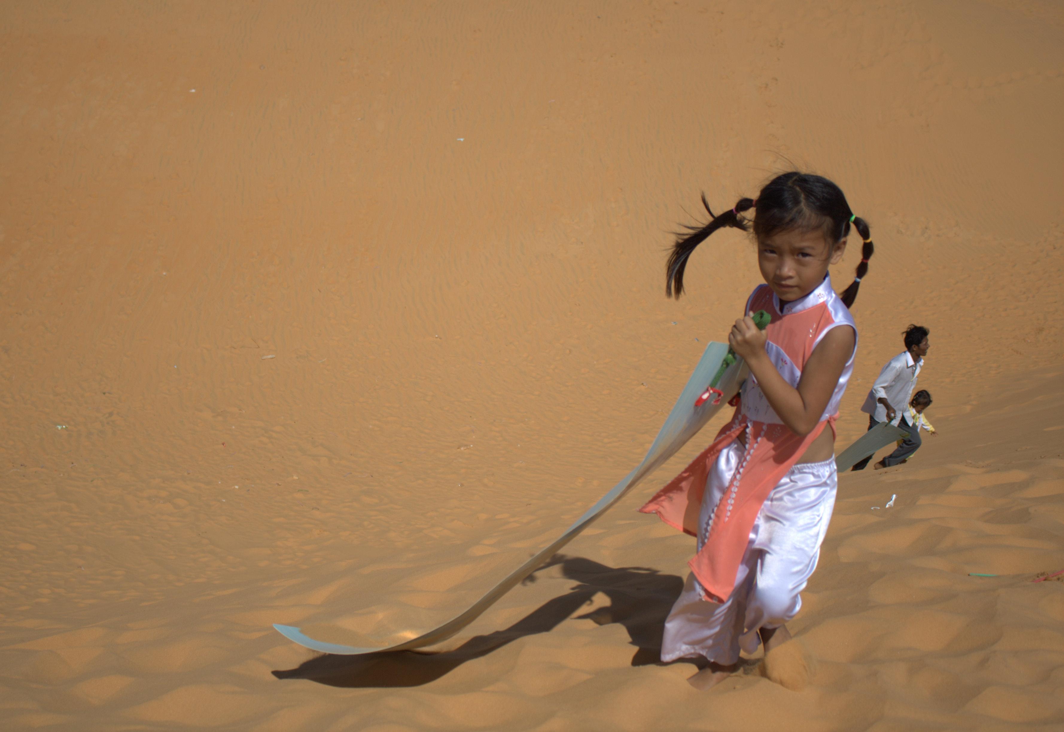 Red dunes in Mui Ne