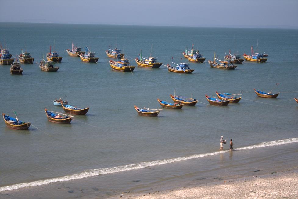 villaggio pescatori Mui Ne