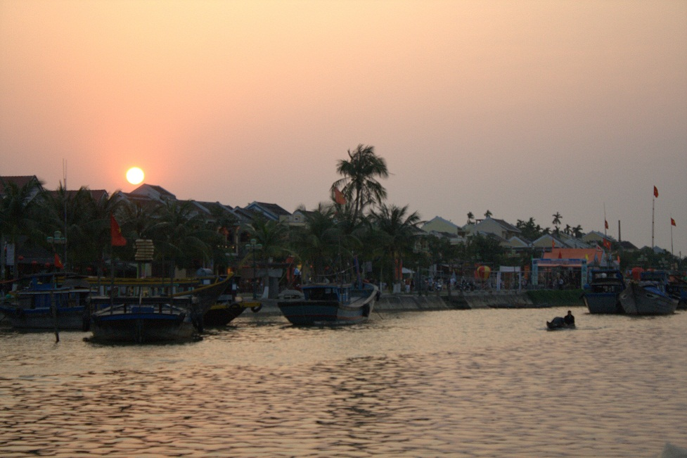 Tramonto ad Hoi An