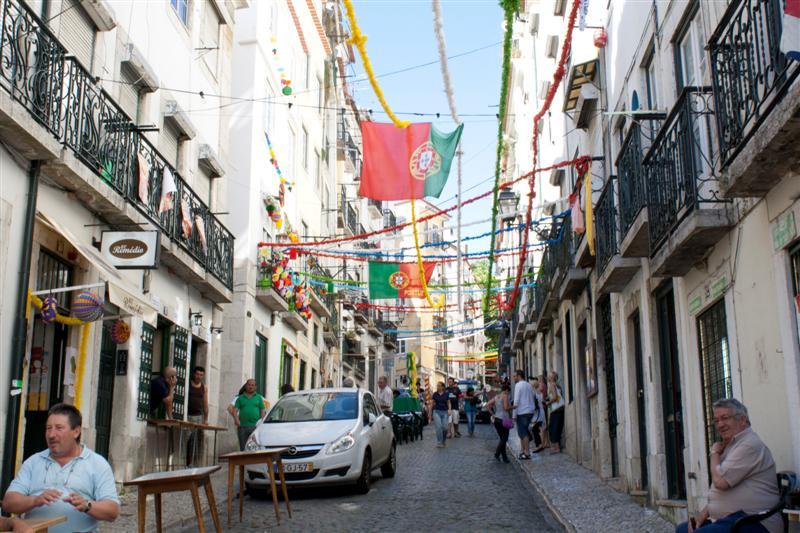 alfama - Lisbona