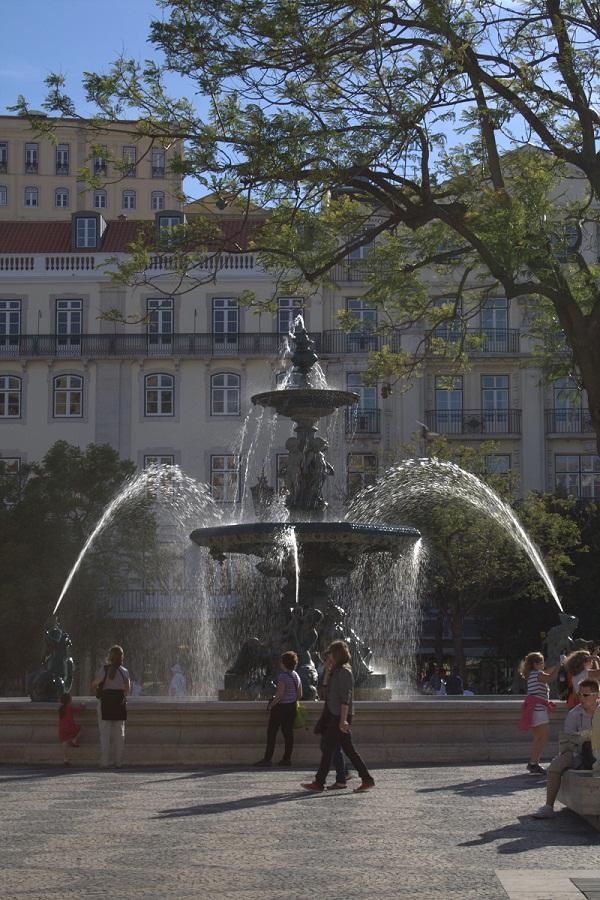 Rossio - Lisbona