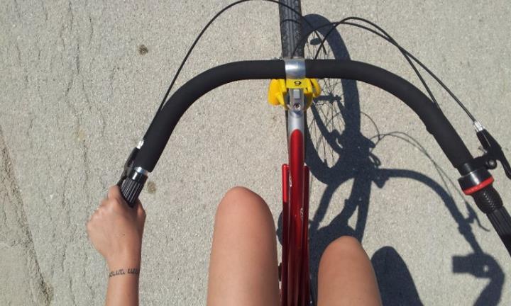 In bici alle saline di Sicciole